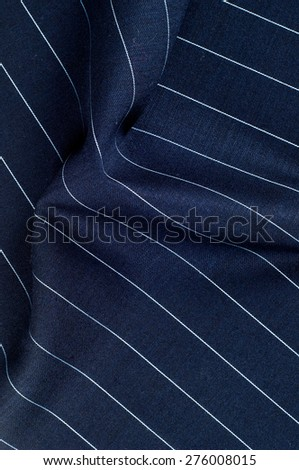 Fabric texture blue. Lining satin. Useful for photons.  Abstract wave textile texture or background in blue color. Texture blue satin, silk background - stock photo
