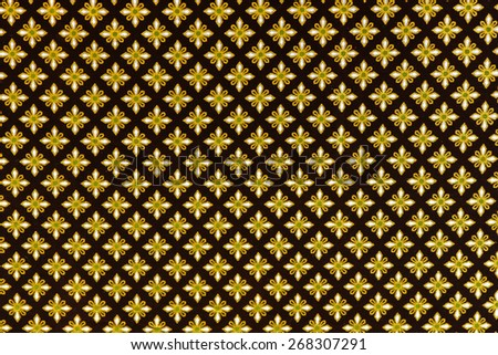 fabric texture - design Thai silk pattern background - stock photo