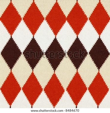 fabric texture (for scrapbook) - stock photo
