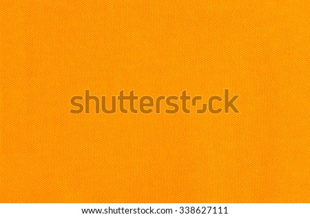 Fabric texture orange color with pattern for design - stock photo