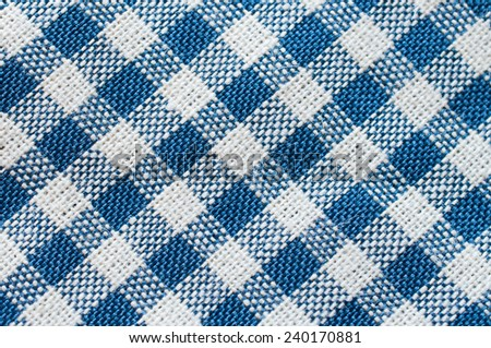 fabric texture pattern collage in a chessboard order as abstract background. - stock photo