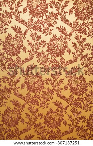 fabric texture Thai silk background - stock photo