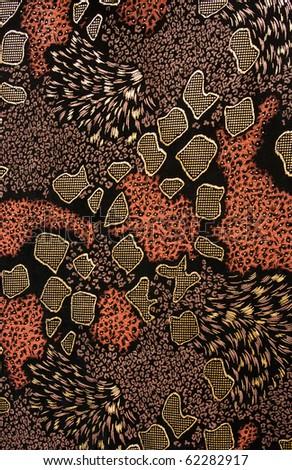 Fabric texture. Tissue pattern. - stock photo
