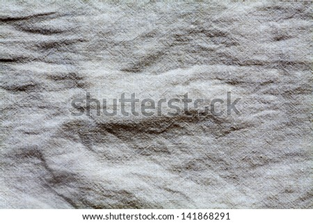 Fabric texture white for background - stock photo