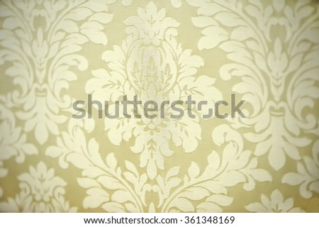 fabric upholstery sofa, background /  selective focus - stock photo