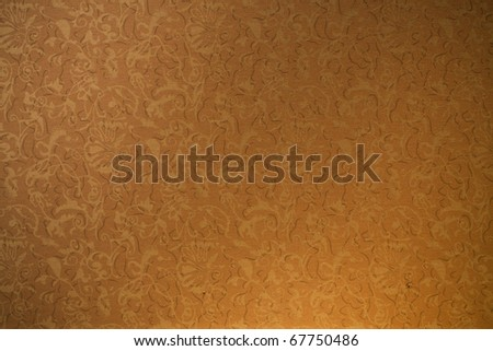 Fabric wall paper - stock photo