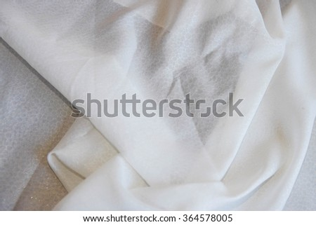 fabric white for background
