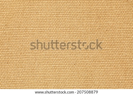 Facade of a brown burlap gunny sack for textural background.  - stock photo