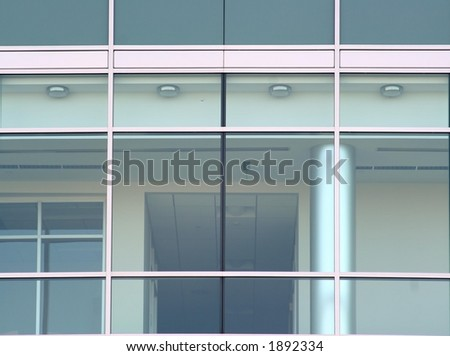 Facade of Glass Building