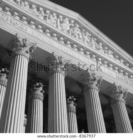 Facade of the United States Supreme Court