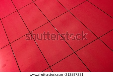 facade tiles - stock photo