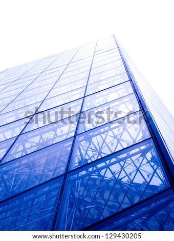 Facades of Glass and Steel - stock photo