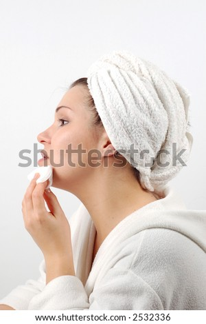 face care #5 - stock photo