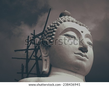 face/face of buddha statue.