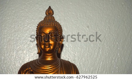 Face Golden Buddha