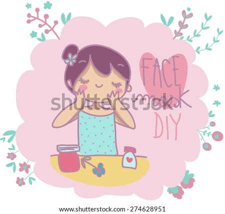 face mask do it yourself illustration