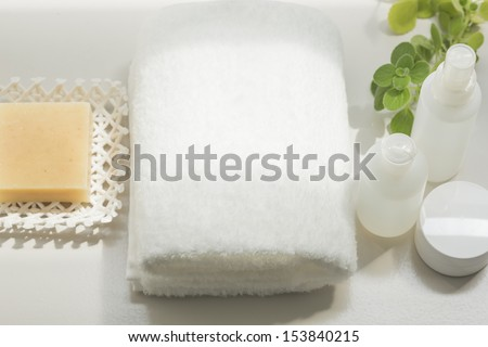 Face-wash tool - stock photo