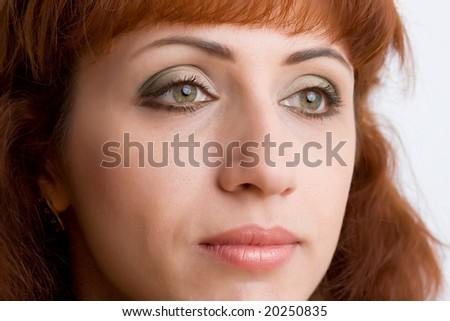 Face women - stock photo