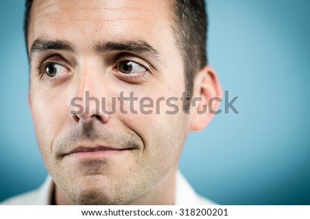 Facial expressions  - stock photo