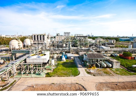 factory area - stock photo
