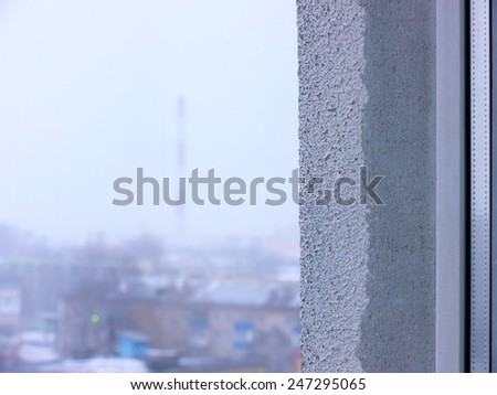 Factory chimneys.  - stock photo