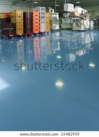 Factory interior - stock photo