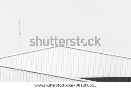 Factory roof background