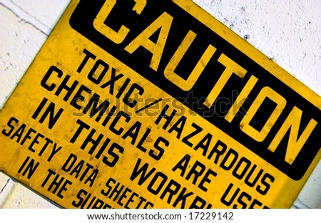 Factory sign - stock photo