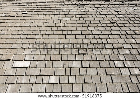 faded cedar shingle background