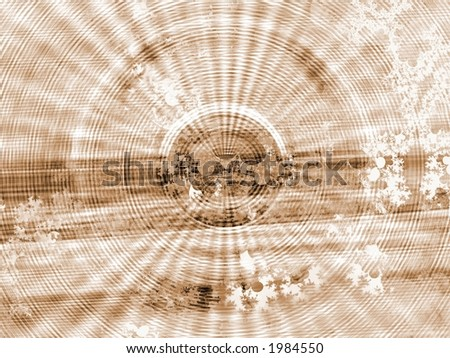 Faded Circles - High Resolution Illustration.  Suitable for graphic or background use.  Click the designer's name under the image for various  colorized versions of this illustration. - stock photo