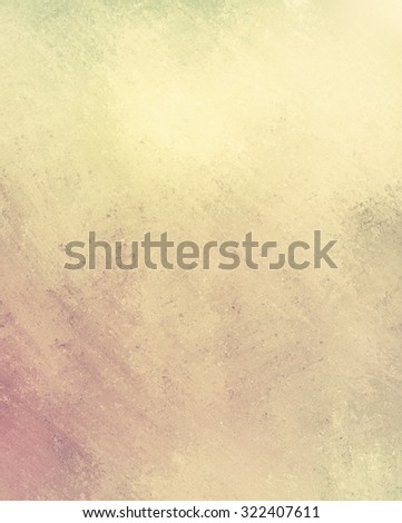 faded gold brown paper, vintage background, old yellow and brown filter colors, textured - stock photo