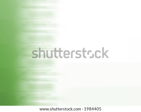 Faded Green Edge - High Resolution Illustration.  Suitable for graphic or background use.  Click the designer's name under the image for various  colorized versions of this illustration. - stock photo