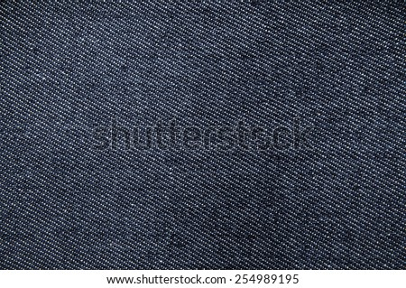 Faded Grey, Blue Denim Jean Fabric / Concept and Idea of Denim Industry, Sewing and Fashion, Vintage Rustic Style. For Pattern, Background, Wallpaper and Textured. - stock photo