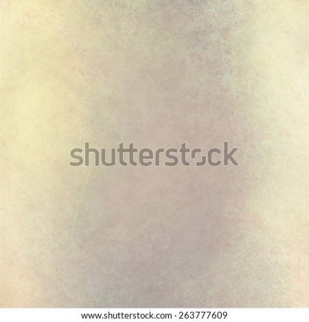 faded vintage background in yellow with messy brown color grunge stains - stock photo