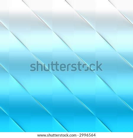 fading from blue to white, glass like background - stock photo