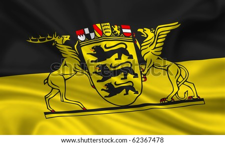 Fahne Flagge Baden-W�¼rttemberg