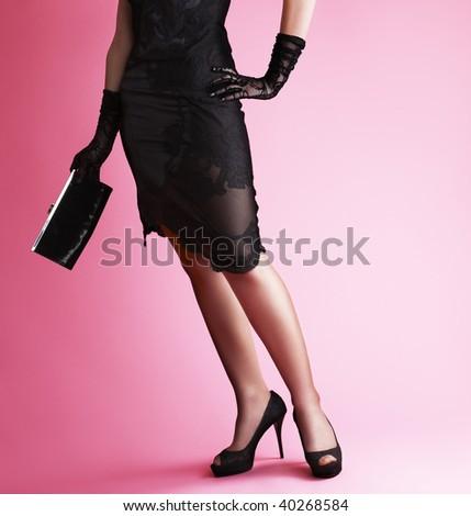 Fair lady - stock photo