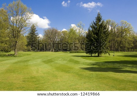 fairway of a golf course