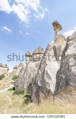 Fairy chimney in Cappadocia - Turkey