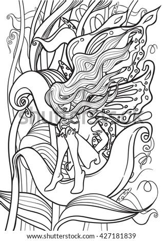 Fairy. Jpeg version. - stock photo