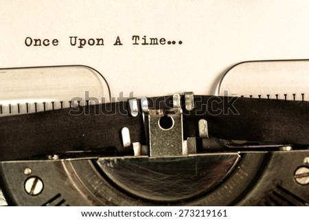 Fairy Tale. Once upon a time - stock photo