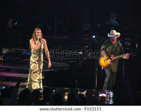 Faith Hill and Tim McGraw - stock photo