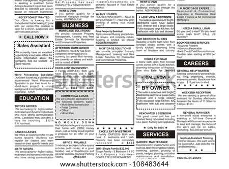 Newspaper Advertising Template Newspaper Advertising Template