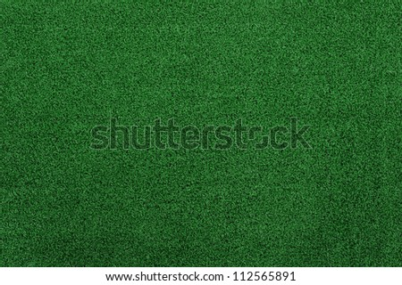fake Green grass texture and background - stock photo