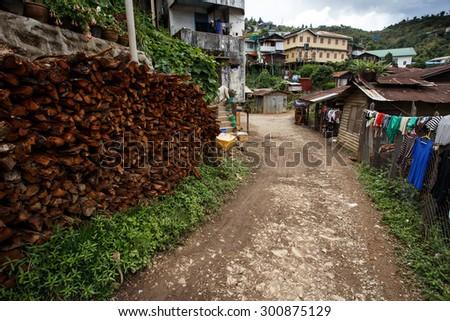 Falam Township , Chin State, Western Myanmar (Burma) - stock photo