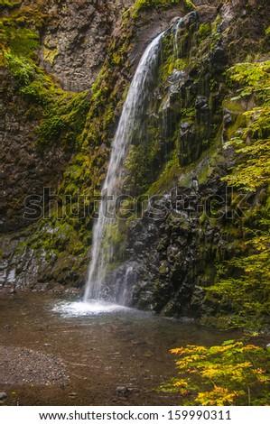 Fall Creek Falls, Oregon - stock photo