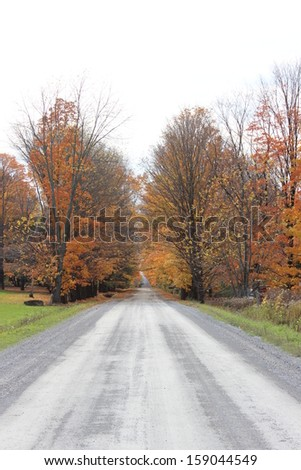 Fall Foliage in Eastern Townships, Quebec