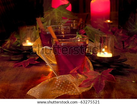Fall Holiday Cheer - stock photo