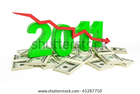 fall in business profits in new year 2011