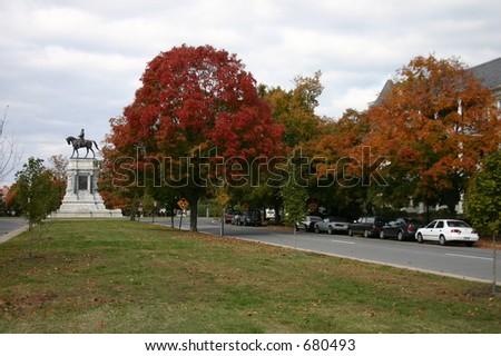 Fall in Richmond - stock photo